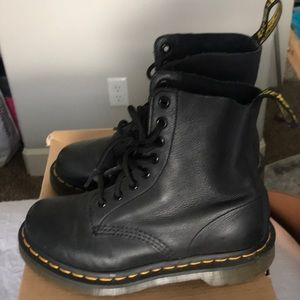 Dr Martin Pascal boot black 36